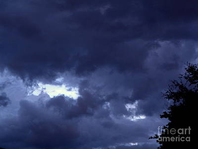 Photograph - Ominous Clouds by Terri Mills