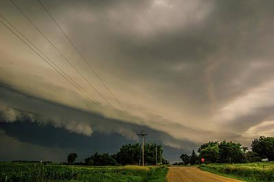 Photograph - Ominous Nebraska Outflow 021 by NebraskaSC