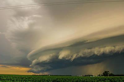 Photograph - Ominous Nebraska Outflow 022 by NebraskaSC