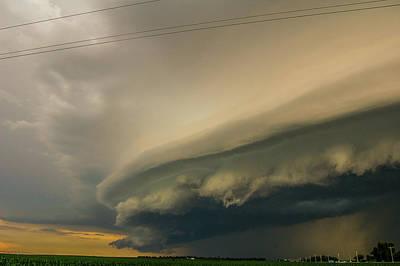 Photograph - Ominous Nebraska Outflow 024 by NebraskaSC