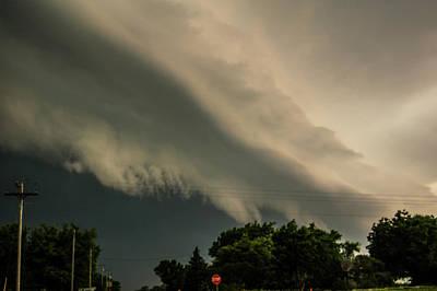 Photograph - Ominous Nebraska Outflow 029 by NebraskaSC