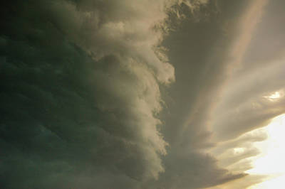 Photograph - Ominous Nebraska Outflow 030 by NebraskaSC