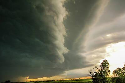 Photograph - Ominous Nebraska Outflow 031 by NebraskaSC