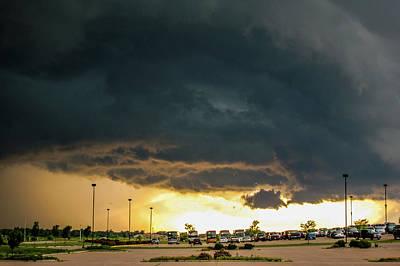 Photograph - Ominous Nebraska Outflow 033 by NebraskaSC