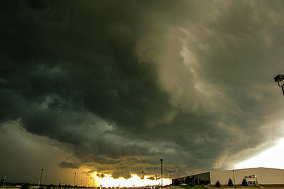 Photograph - Ominous Nebraska Outflow 037 by NebraskaSC