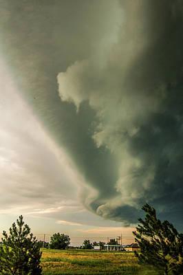 Photograph - Ominous Nebraska Outflow 039 by NebraskaSC