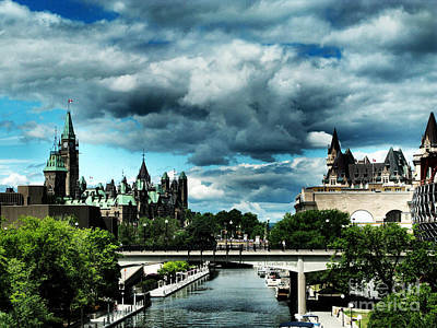 Photograph - Ominous Ottawa by Heather King