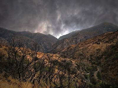 Photograph - Ominous Skies by Scott Fracasso