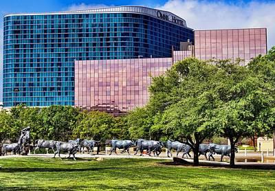 Photograph - Omni Hotel Dallas Texas by Kathy Churchman