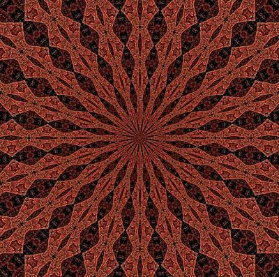 Digital Art - Omnihedron Folded Geometry-2 by Doug Morgan
