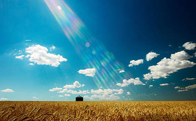 Field. Cloud Photograph - Omnipotent by Todd Klassy