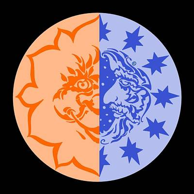Digital Art - Omniscire Eclipse Logo by Dawn Sperry