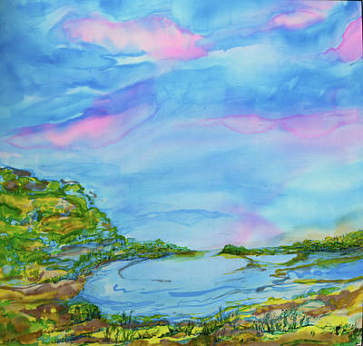 Painting - On A Clear Day by Susan D Moody
