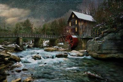 By Jackie Photograph - On A Cold Winters Night by Jackie Sajewski