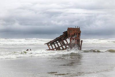 Peter Iredale Photograph - On A Day Like This by Kristina Rinell