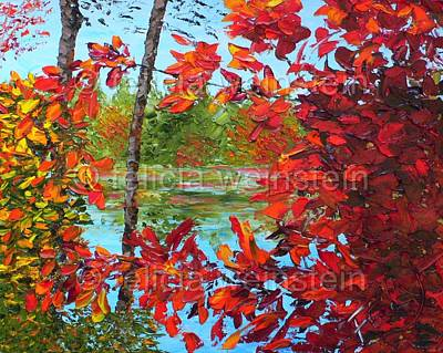 Painting - On A Fall Day by Felicia Weinstein