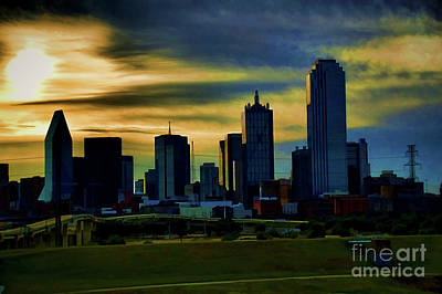 Photograph - On A Hill by Diana Mary Sharpton