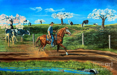 Painting - On A Spring Morning by Ruanna Sion Shadd a'Dann'l Yoder