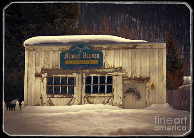 Almost Home Photograph - On A Winters Day by Janice Rae Pariza