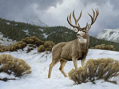 Painting - On Alert by Peter Eades