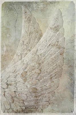 On Angels Wings Art Print