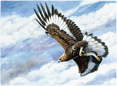 On Attack Art Print by Dag Peterson