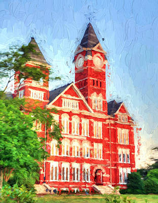 Photograph - On Auburn University by JC Findley