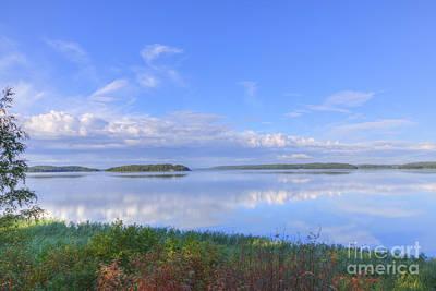 Painterly Photograph - On August Morning by Veikko Suikkanen