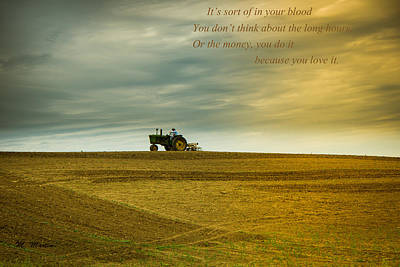 Photograph - On Being A Farmer by Melinda Martin