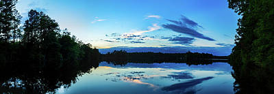 Photograph - On Broken Bow Lake by CJ Schmit