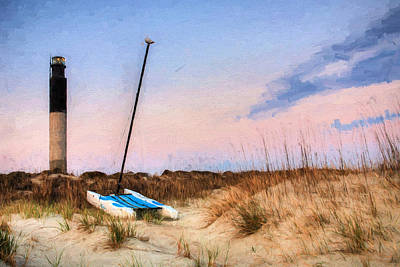 Photograph - On Caswell Beach by JC Findley