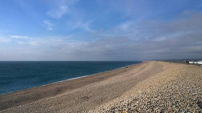Photograph - On Chesil Beach by Anne Kotan