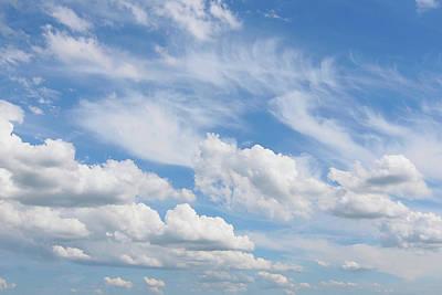 Photograph - On Cloud Nine by Gill Billington