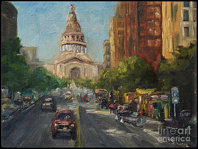 Painting - On Congress by Lisa  Spencer