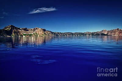 Photograph - On Crater Lake by Bruce Block