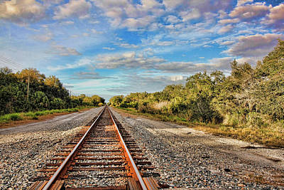 Photograph - On Down The Line  by HH Photography of Florida