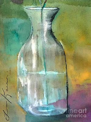 On Edge Painting Art Print by Lisa Kaiser