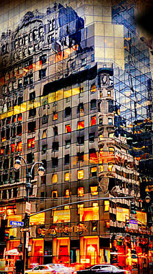 Photograph - On Fire New York City by Diana Angstadt