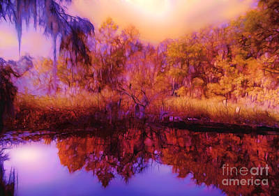 Photograph - On Golden Pond by Judi Bagwell
