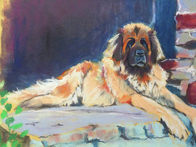 Wall Art - Pastel - On Guard by Alison Stafford