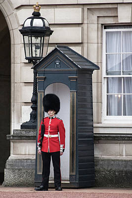 Red Queen Photograph - On Guard by Martin Newman
