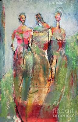 Mixed Media - On Her Terms by Gail Butters Cohen