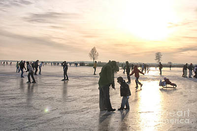 Photograph - On Ice by Patricia Hofmeester