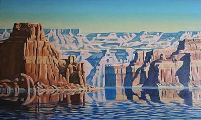 Painting - On Lake Powell by Marie Kerns
