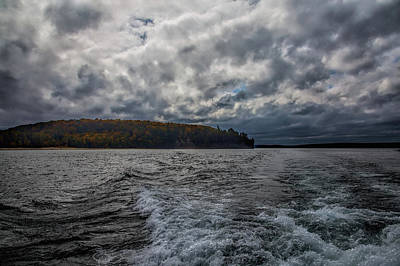 Photograph - On Lake Superior by John M Bailey