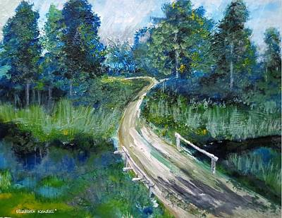 Painting - On My Way by Elizabeth Kendall