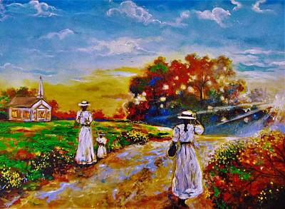 Painting - On My Way Home by Emery Franklin