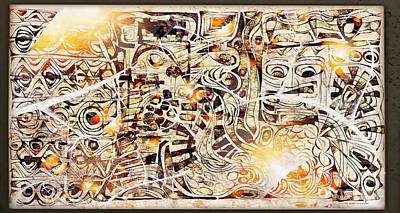 Digital Art - On Olympus 3807 by Marek Lutek