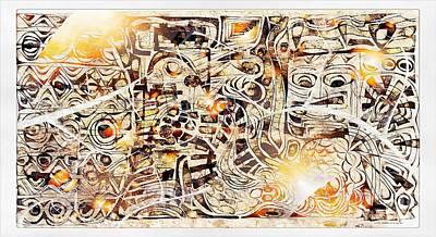 Digital Art - On Olympus 3808 by Marek Lutek