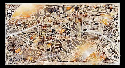Digital Art - On Olympus 3809 by Marek Lutek